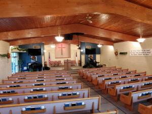 Berean Baptist Church interior